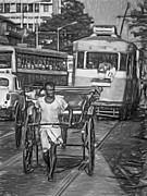 Steve Harrington - Oh Calcutta - Paint bw
