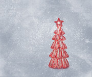 Christmas Cards Photos - Oh Christmas Tree by Kim Hojnacki