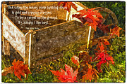 Mick Anderson - Oh How I Love Autumn with Poetry