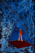 Stairway To Heaven Painting Originals - Oh Jimmy by Stuart Engel