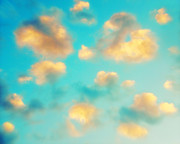 Cloud Photography Posters - Oh Lovely Day Poster by Amy Tyler