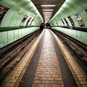 Subway Metal Prints - Oh so quiet Metal Print by John Farnan