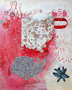 Award Mixed Media Originals - Oh10 by Sandra Cohen