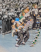 Spats Prints - Ohio Drum line Print by Gallery Three