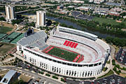Buckeyes Posters - Ohio Stadium Poster by Bill Cobb