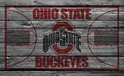 Ohio State Buckeyes Print by Joe Hamilton