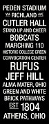 Jeff Photos - Ohio University College Town Wall Art by Replay Photos