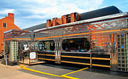 Karen Adams Metal Prints - Ohio University Court Street Diner Metal Print by Karen Adams