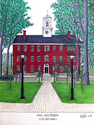 Other Famous University Campus Buildings - Ohio University by Frederic Kohli