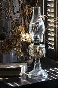 Lynn Palmer - Oil Lamp and Book Still Life