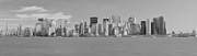 Nyc Digital Art - Oil Painted New York City Skyline by Brian Mollenkopf