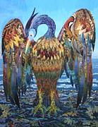 Oil Spill Phoenix Print by Bob Craig