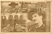 Holliday Digital Art - O.k. Corral by Marion Matteo