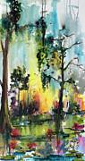 Ginette Fine Art LLC Ginette Callaway - Okefenokee Forever Wetland Sunset