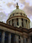 Domes Prints - Oklahoma Capital Print by Jeff Kolker