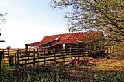 Carolyn Pettijohn - Oklahoma Treasures - Barn Landscape