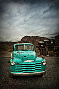 Rural School Bus Photos - Ol Turquoise by Tamson