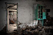 Old Abandoned Houses Posters - Old abandoned kitchen Poster by RicardMN Photography