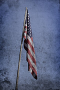 American Photo Originals - Old american flag  by Tommy Hammarsten