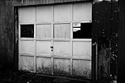 JW Hanley - Old and Worn Garage Door