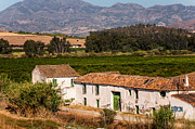 Ronda Prints - Old Andalusian Farm House. Spain Print by Jenny Rainbow
