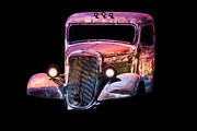 Lovable Digital Art - Old Antique Classic Car by Gunter Nezhoda