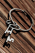 Christian Lagereek - Old Antique Keyring And...
