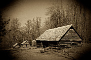 Tennessee Barn Prints - Old Appalachian Settlement Print by Paul W Faust -  Impressions of Light