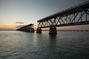 Bahia Honda Photos - Old Bahia Honda Bridge by Doug McPherson