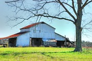 Old Country Roads Photos - Old Barn 04 by Andy Savelle