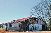 Old Country Roads Photos - Old Barn 10 by Andy Savelle