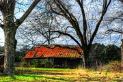 Dothan Alabama Framed Prints - Old Barn 17 Framed Print by Andy Savelle