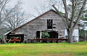 Dothan Alabama Framed Prints - Old Barn 18 Framed Print by Andy Savelle
