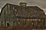 Rundown Barn Framed Prints - Old Barn Framed Print by Alana Ranney