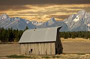 Randall Branham - Old Barn and Mountains