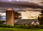 New Hampshire - Old Barn and Silo - New England by Joann Vitali