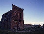 Desert Pyrography Metal Prints - Old Barn  Metal Print by Armando Arorizo