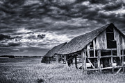Barn Storm Prints - Old Barn Print by Ian MacDonald