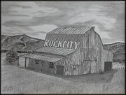 Old Barn II Print by Tony Clark