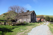 Old Country Roads Prints - Old Barn in Antioch California 5D22274 Print by Wingsdomain Art and Photography