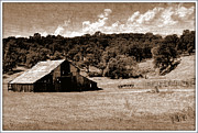 Irina Hays - Old barn in retro style