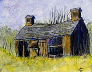 Old Barn Mixed Media - Old Barn by Kenny Henson