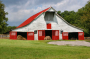 Red Roof Photos - Old Barn by Kristin Elmquist