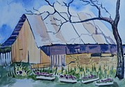 Jann Elwood - Old Barn near Strawberry...