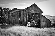 Ron Roberts Photography Posters - Old Barn Poster by Ron Roberts