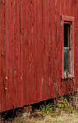 Debbie Karnes Prints - Old Barn Window Print by Debbie Karnes