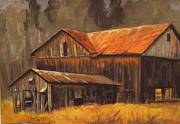 Carol Hart - Old barns