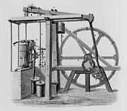 Engine Drawings - Old Bess Steam Engine by SPL and Science Source