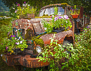 Rusty Truck Prints - Old Betsy Print by Mike Reid