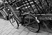 Frederico Borges Photo Prints - Old Bicycle Print by Frederico Borges